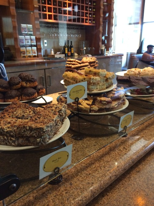 A few of the house made desserts at Nordstrom's Cafe