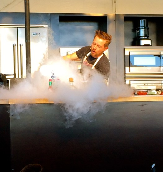 Chef Richard Blais in Scottsdale AZ Chipotle Cultivate Festival