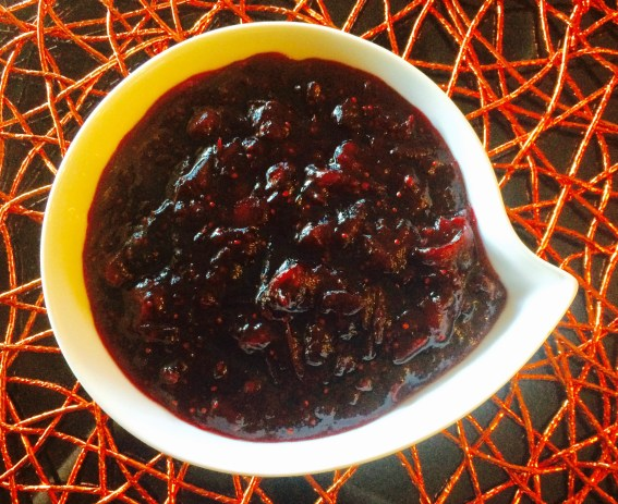 Cranberry Sauce with Hibiscus