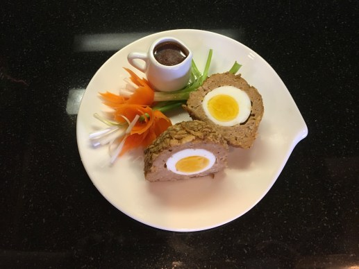 Spicy Asian Turkey Baked Scotch Eggs