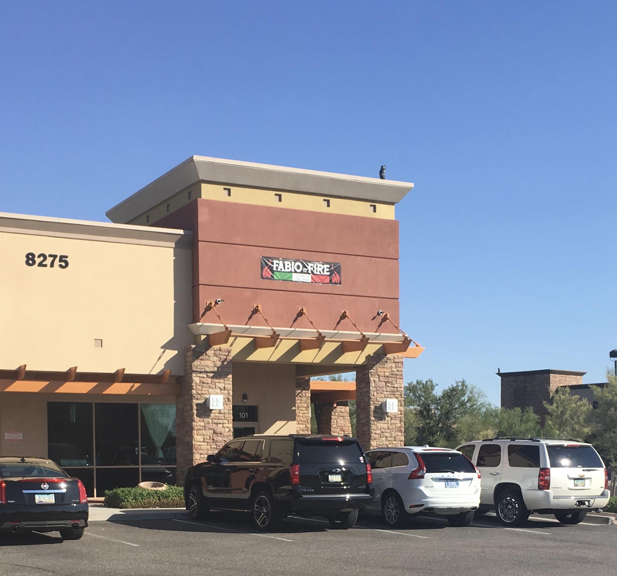 Italian Restaurant In Peoria: Fabio On Fire Restaurant In Peoria AZ Is Worth A FORK