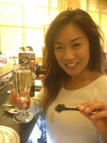 Champagne and Caviar in London