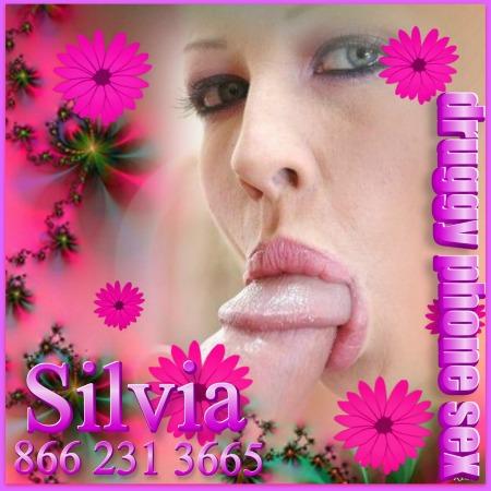 Druggy Phone Sex Silvia