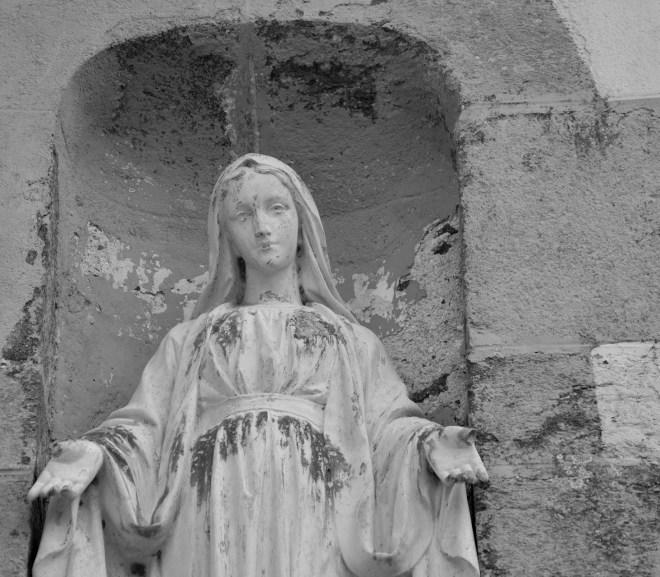 The Virgin Weeps