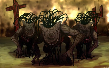 Shadow Beasts, from Twilight Princess