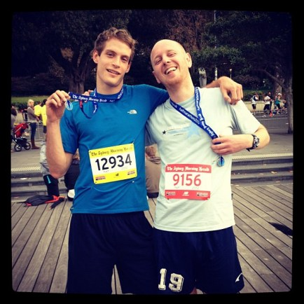 After the marathon, Sydney