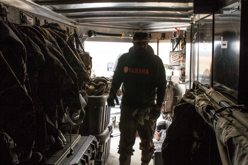 hunting trailer