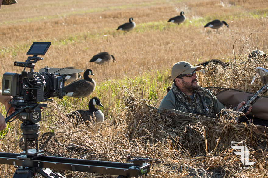 Benelli Commercial - Red Camera Filming Ground Blind
