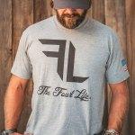 Fowl Life grey shirt