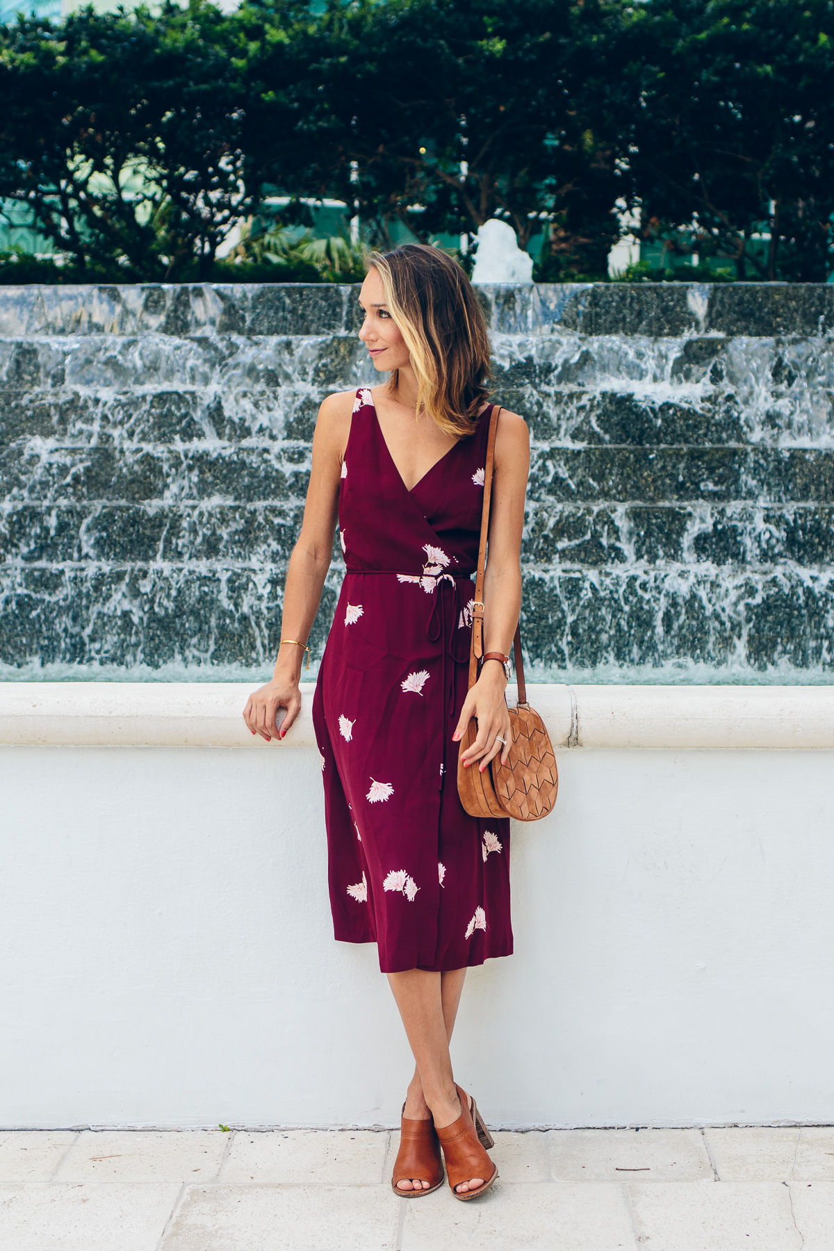 How To Wear A Wrap Dress The Fox Amp She Chicago Style Blogger