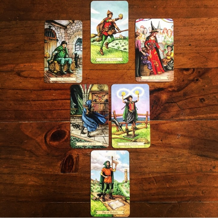Deck Interview Spread - Everyday Witch Tarot