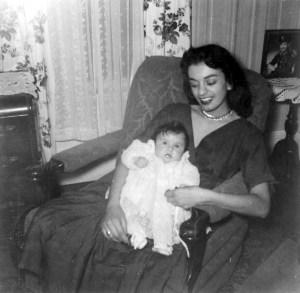 Isabel Valdez, baby