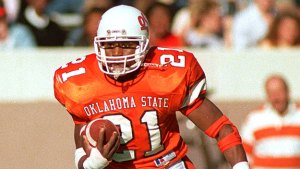 Barry Sanders won the Heisman in 1988 and became an Oklahoma State legend.