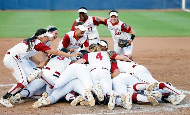 On Wednesday, Oklahoma won the national championship in softball. On Thursday, coach Patty Gasso was a guest on Further Review with John Hoover and Lauren Rew. (Photo: OU Media Relations)