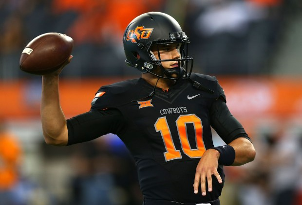 Mike Yurcich expects Oklahoma State quarterback Mason Rudolph to have a big season.