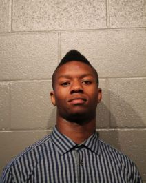 Joe Mixon's 2014 arraignment mug.