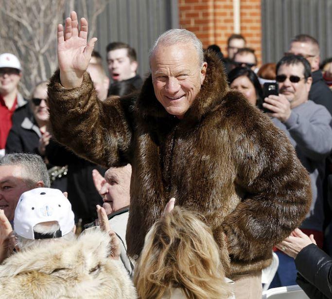 Image result for barry switzer fur coat