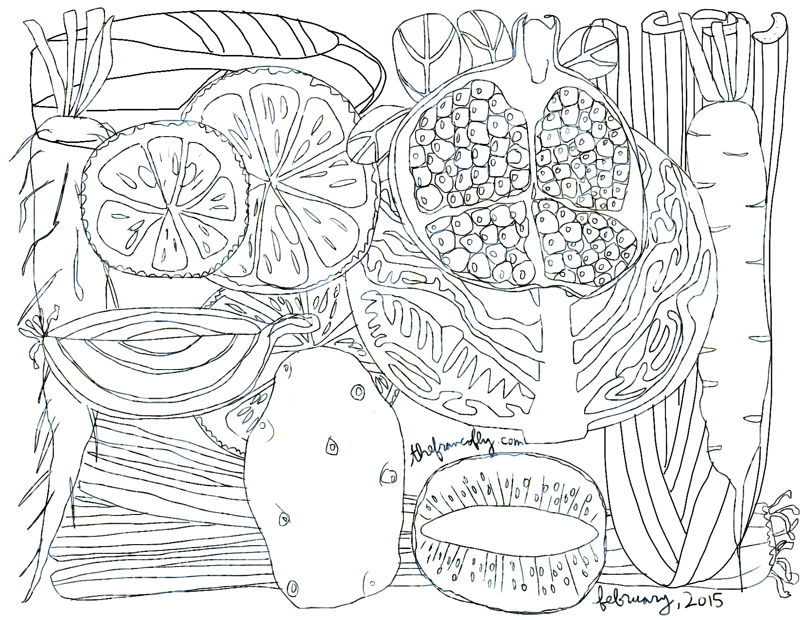 free coloring page – thefrancofly