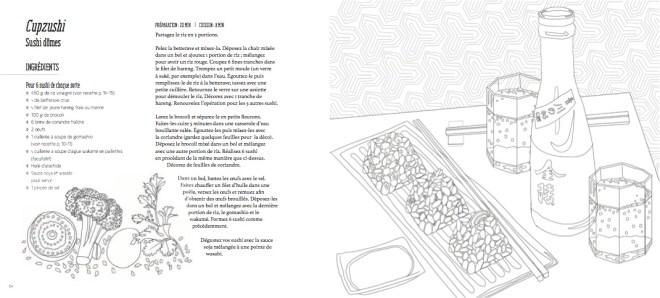 Recettes Japonaises a colorier et a cuisiner-Editions Mango-thefrancofly.com 4