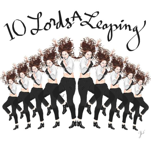 10 lords a leaping 2