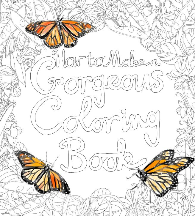How to make a gorgeous coloring book