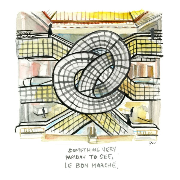 Paris city guide_thefrancofly.com_Le Bon Marche