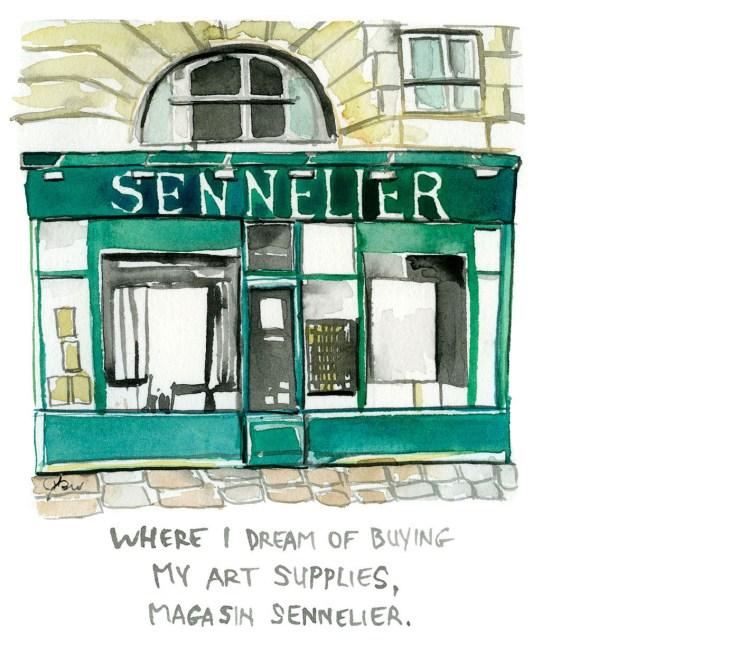 sennelier_thefrancofly_Paris guide 1_Jessie Kanelos Weiner