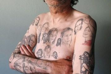 Fan and his 82 Julia Roberts tattoos