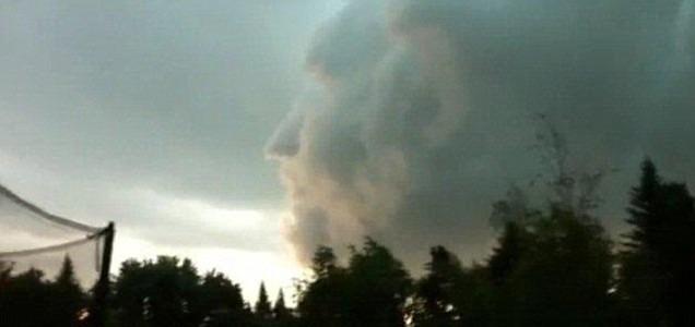 Roman God Found in Clouds