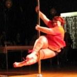 The 252 pound Pole Dancer