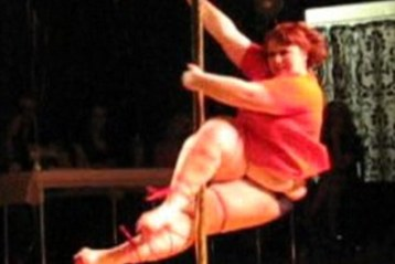 The 252 pound Pole Dancer