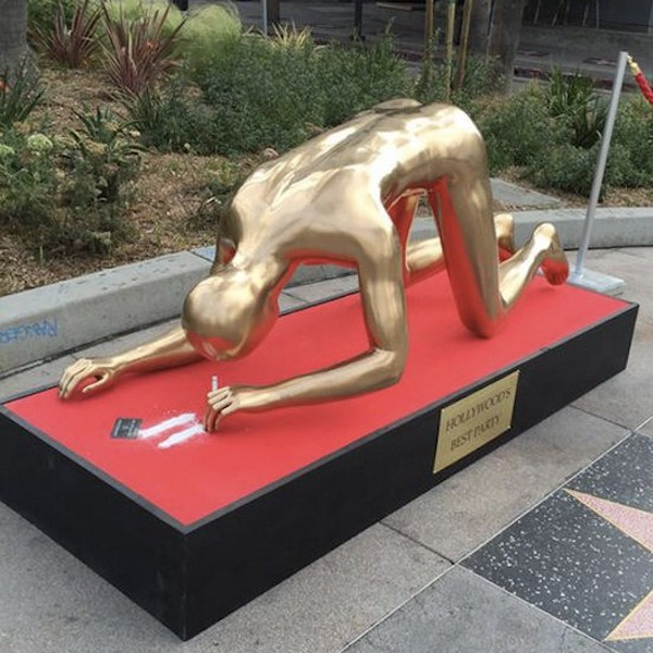 Cocaine Oscar Statue