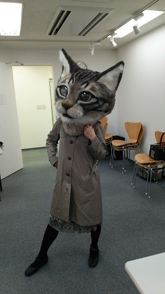 weird cat mask