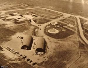 weird nuclear bunker
