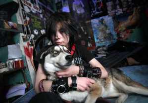 Sarah Rodriguez, a.k.a. Wolfie Blackheart,