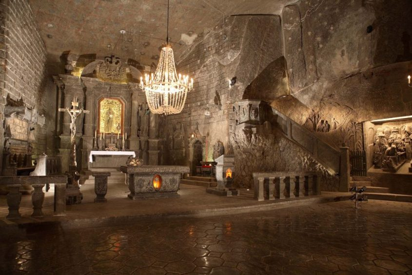 The underground church made entirely from salt