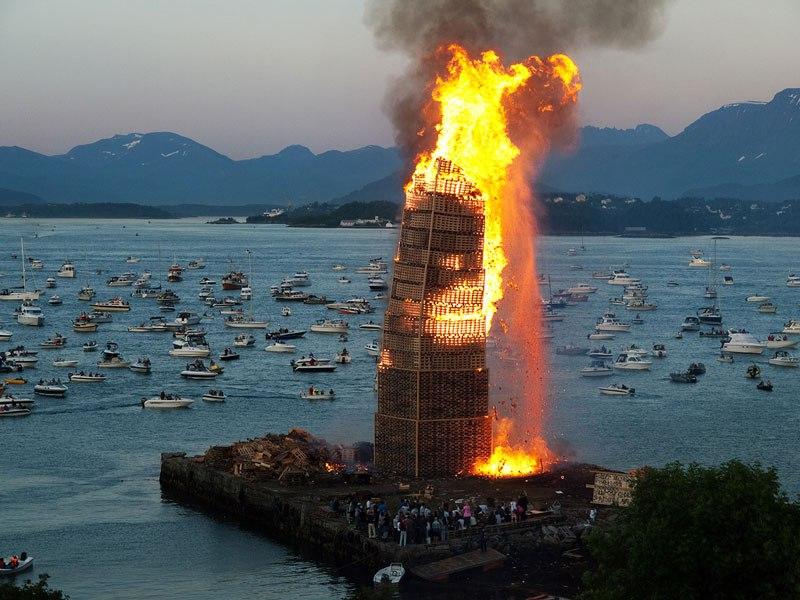 big bonfire