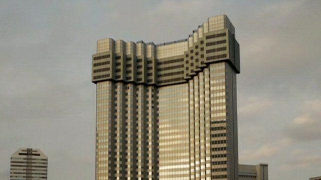 weird building