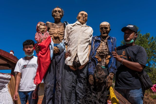 múmias indonésias esquisitas