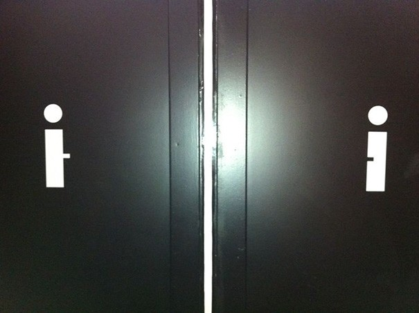 Top Ten Funny Restroom Signs