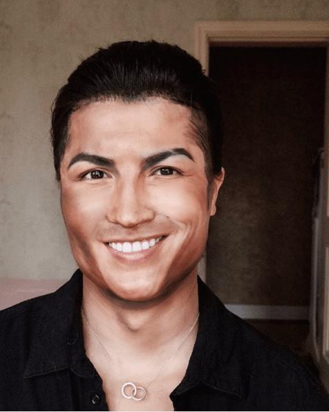 ronaldo chinese make-up artist