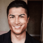 The Chinese girl who turned herself into Cristiano Ronaldo with make-up