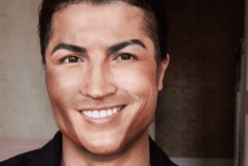 ronaldo chinese make-up artist