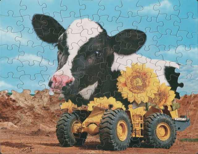 Surreal Mashed-Up Jigsaw Puzzles