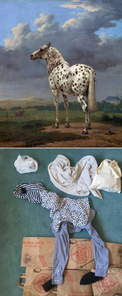 Paintings Recreated Using Stuff Found At Home