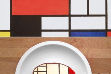 mondrian with cheese