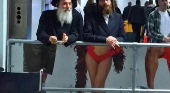 cross dressing rabbi