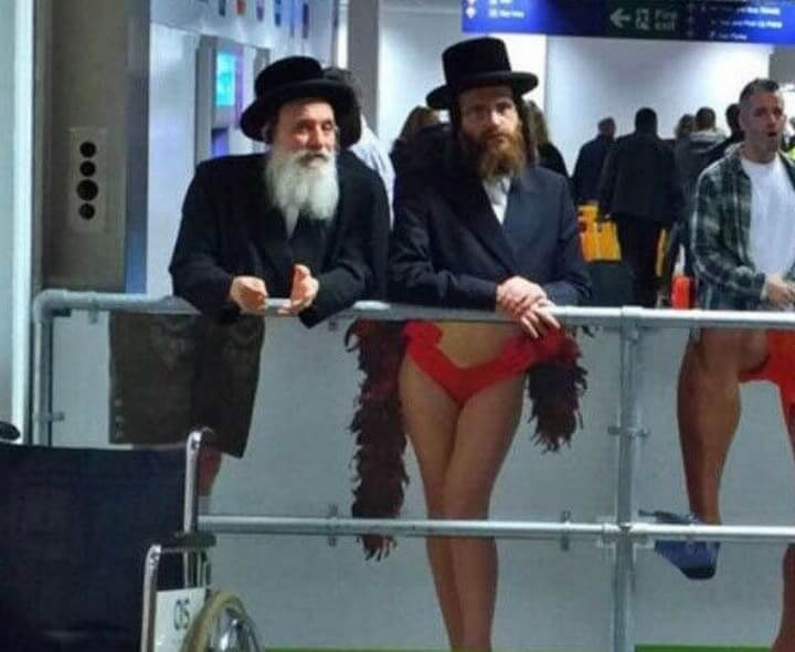Freaky Photo: The Cross Dressing Rabbi