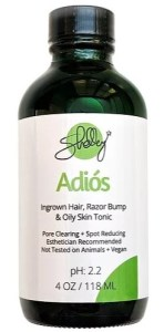 Oily Skin and Ingrown Hair Relief Toner