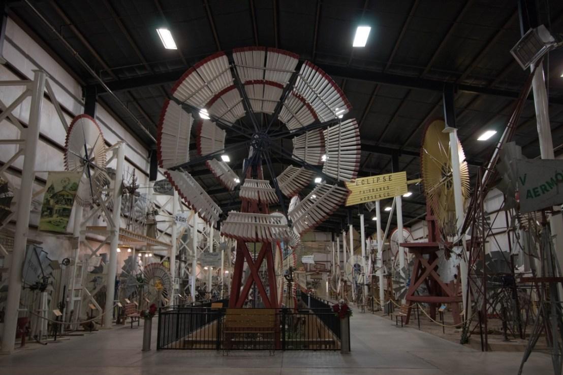 Museum Windmill Display Area